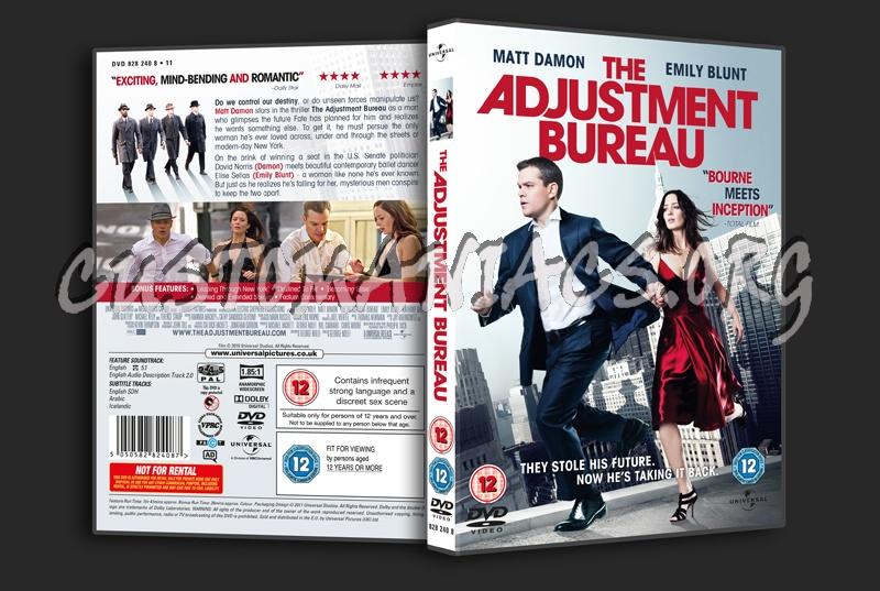 The Adjustment Bureau dvd cover