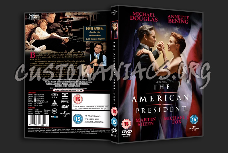 The American President dvd cover