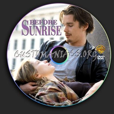 Before Sunrise dvd label