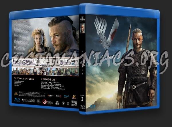 Vikings Season 2 blu-ray cover