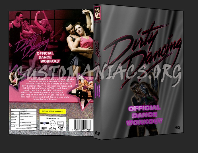 Dirty Dancing - Official Dance Workout dvd cover