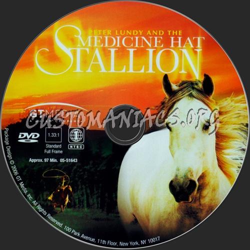 Medicine Hat Stallion dvd label