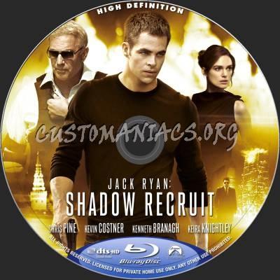 Jack Ryan: Shadow Recruit blu-ray label