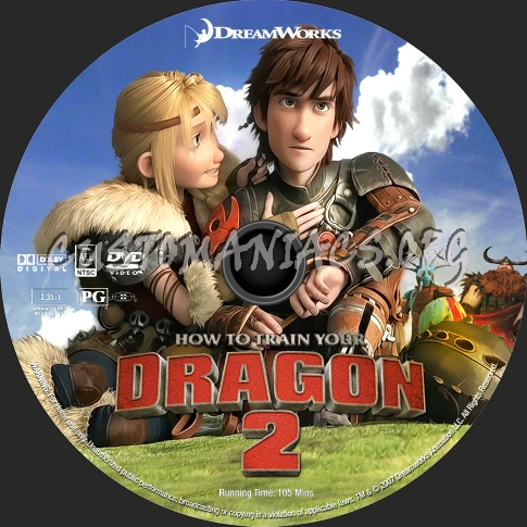 How To Train Your Dragon 2 2014 Dvd Label Dvd Covers Labels By Customaniacs Id 209987 Free Download Highres Dvd Label