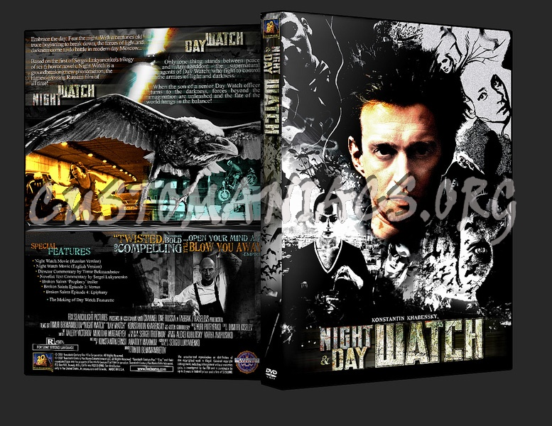 Night Watch Day Watch dvd cover