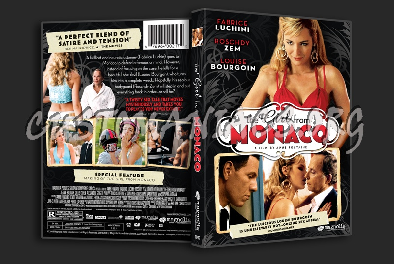 The Girl From Monaco dvd cover