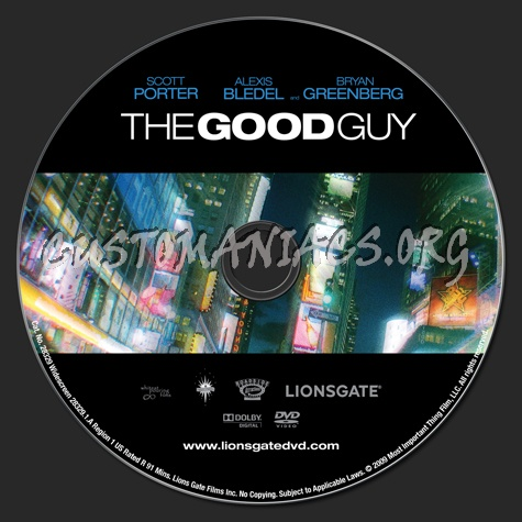 The Good Guy dvd label