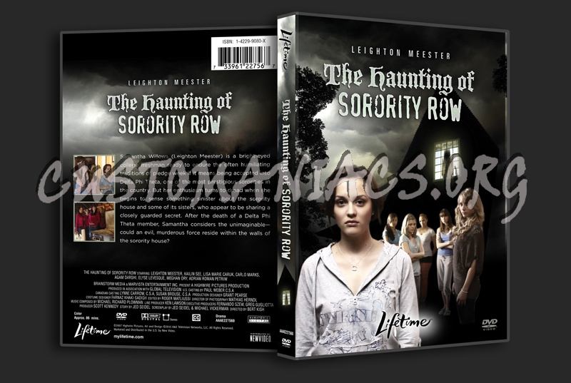 The Haunting of Sorority Row dvd cover
