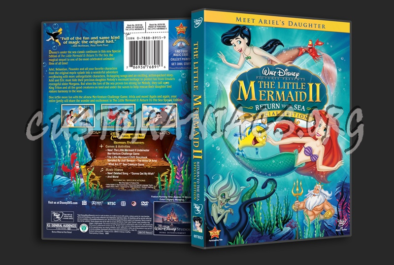 The Little Mermaid 2 Return to the Sea dvd cover