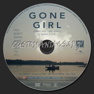Gone Girl dvd label