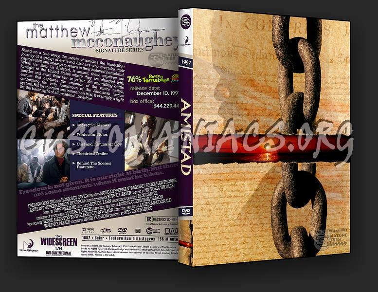 Amistad dvd cover