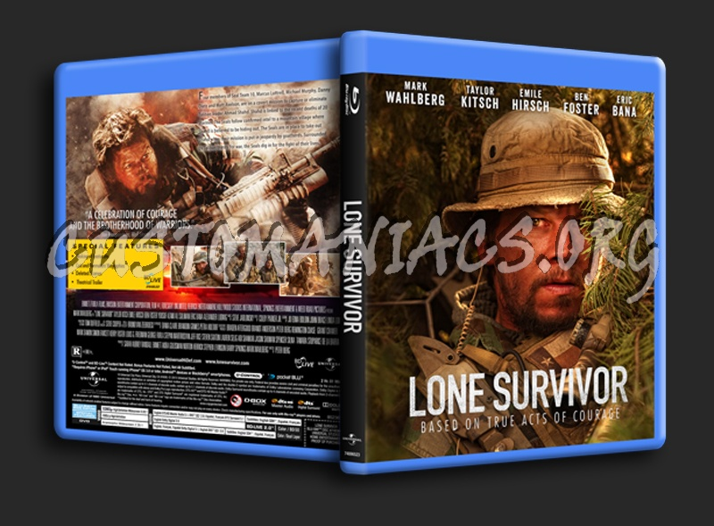 Lone Survivor blu-ray cover - DVD Covers & Labels by ...