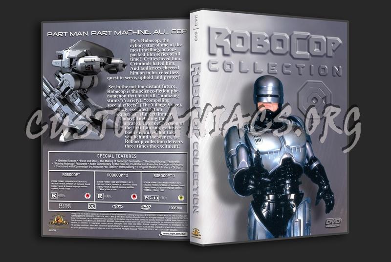 RoboCop Collection dvd cover