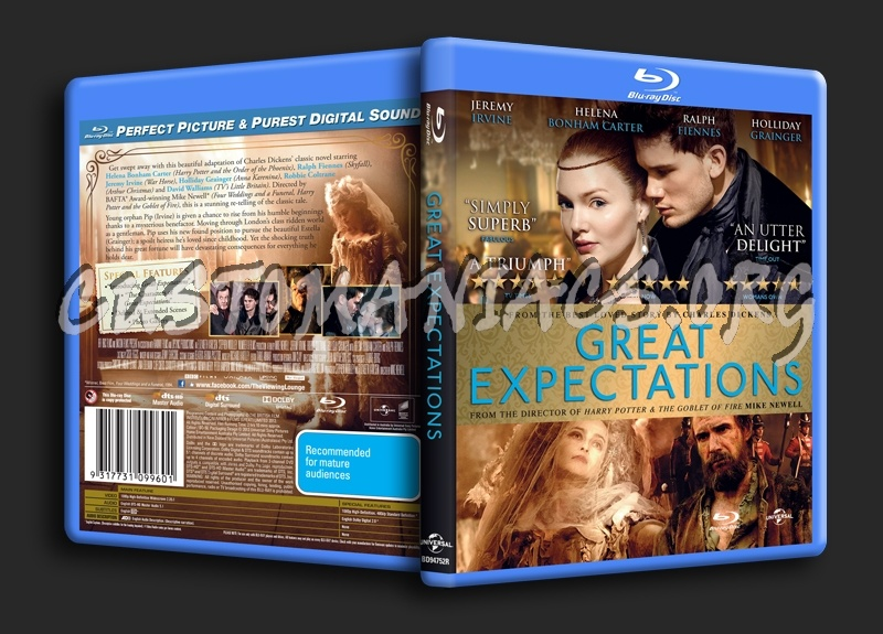 Great Expectations blu-ray cover