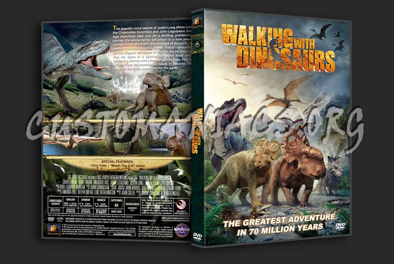 Walking with Dinosaurs dvd cover