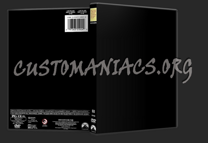paramount dvd template dvd label