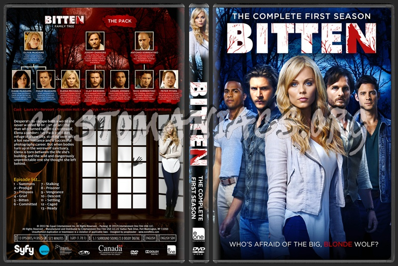 Bitten: Season 1 dvd cover