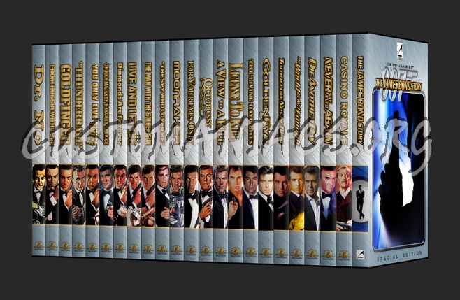 007 - James Bond Special Edition Collection dvd cover