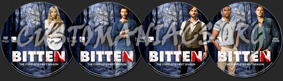 Bitten: Season 1 dvd label