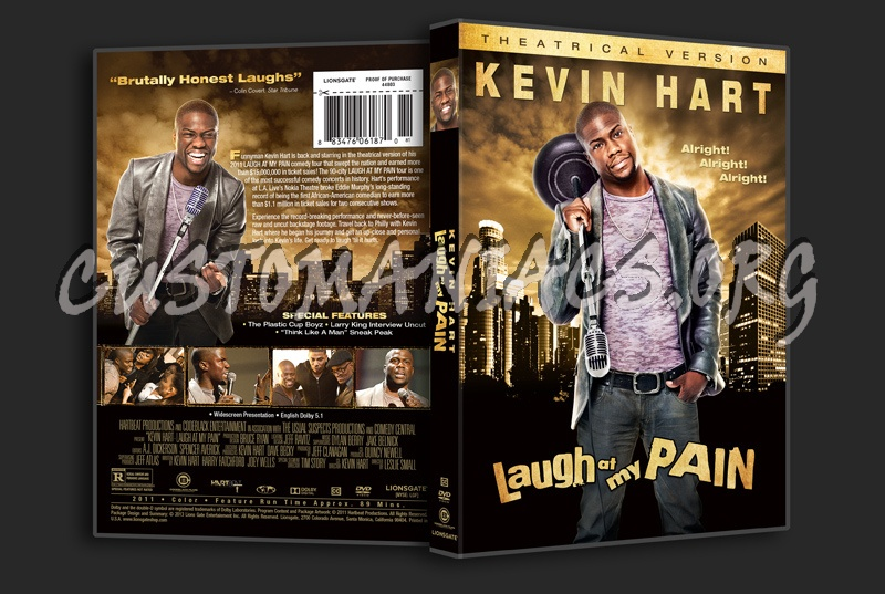 Kevin Hart Laugh at my Pain dvd cover