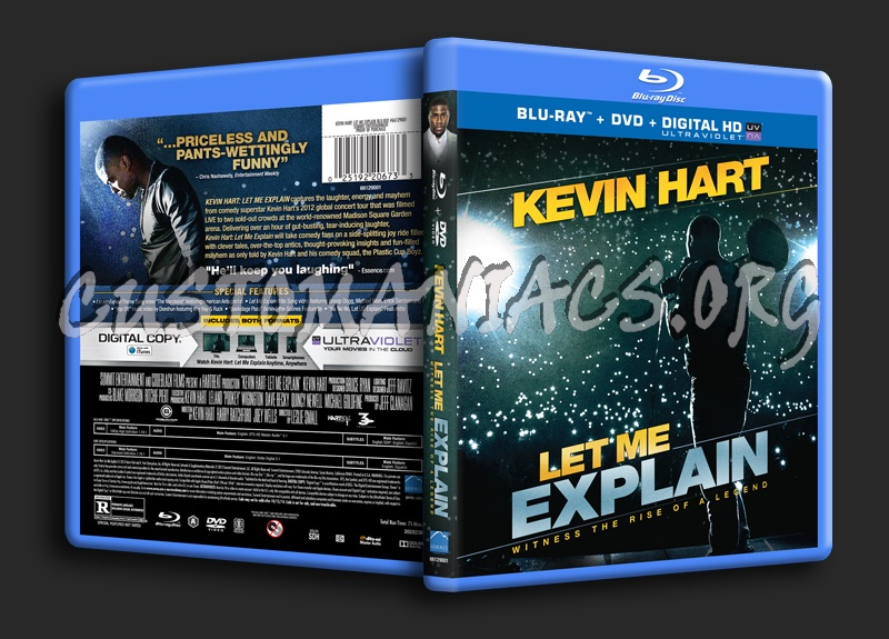 Kevin Hart Let Me Explain blu-ray cover