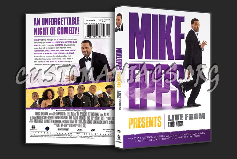Mike Epps Presents Live From Club Nokia dvd cover