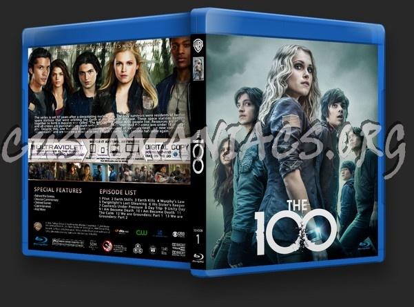 The 100 Season 1 blu-ray cover