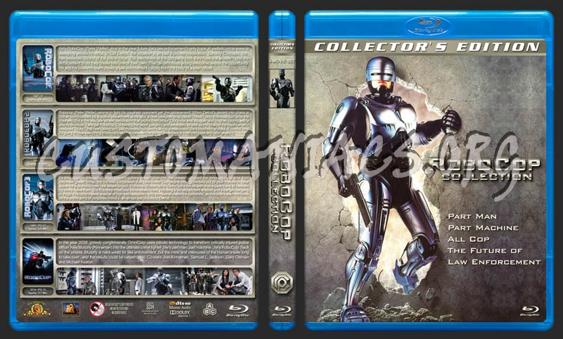 RoboCop Collection blu-ray cover