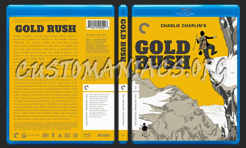 615 - Gold Rush blu-ray cover