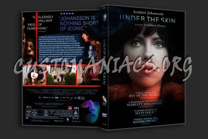 Under the Skin dvd cov...