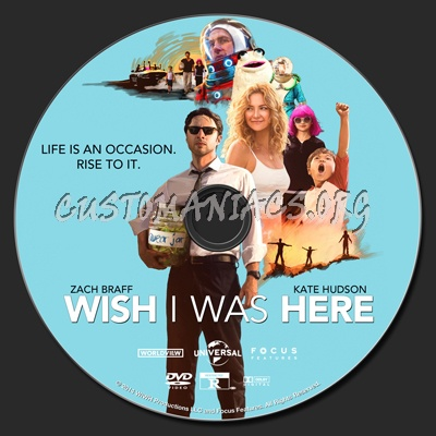 Wish I Was Here dvd label