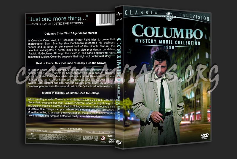 Columbo Mystery Movie Collection dvd cover