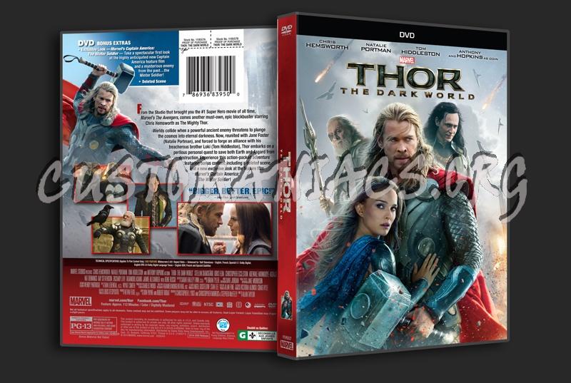 Thor the Dark World dvd cover