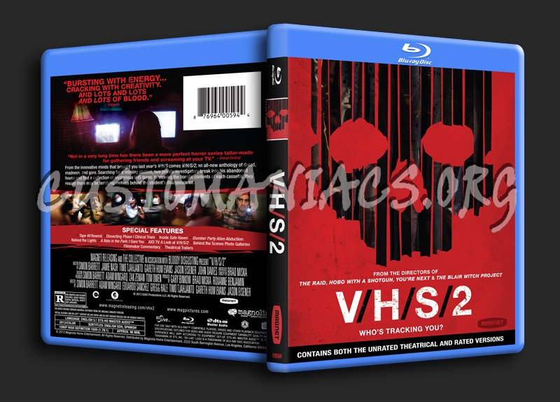 V/H/S/2 aka  VHS 2 blu-ray cover