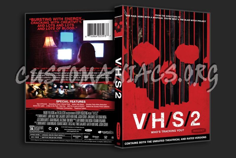V/H/S/2 aka  VHS 2 dvd cover