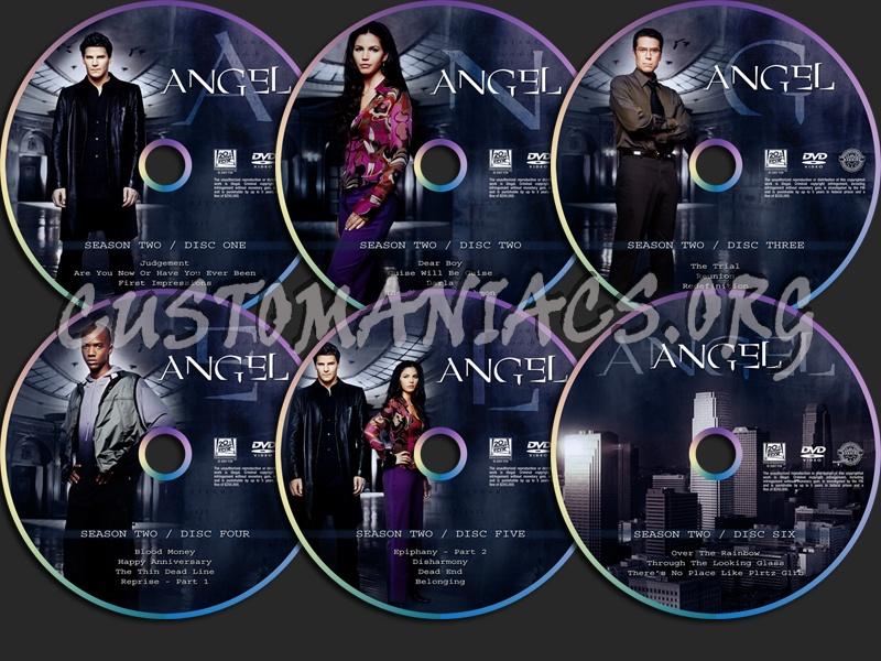Angel Season Two dvd label
