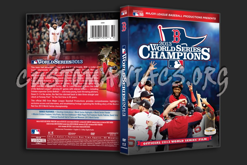 World Series 2013 Champions dvd cover