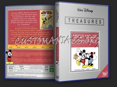 Disney Treasures - Mickey Mouse in Living Color Vol. I dvd cover