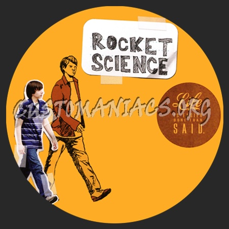 Rocket Science dvd label