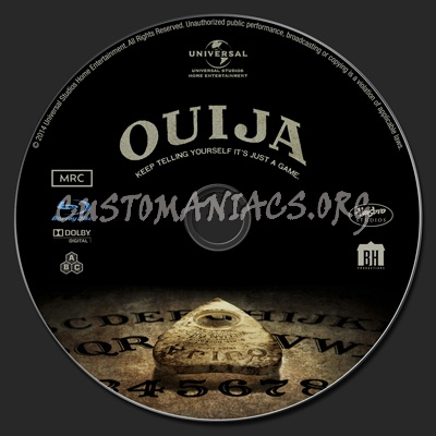 Ouija blu-ray label