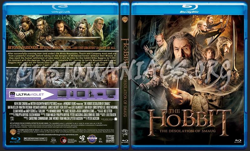 The Hobbit Desolation Of Smaug blu-ray cover