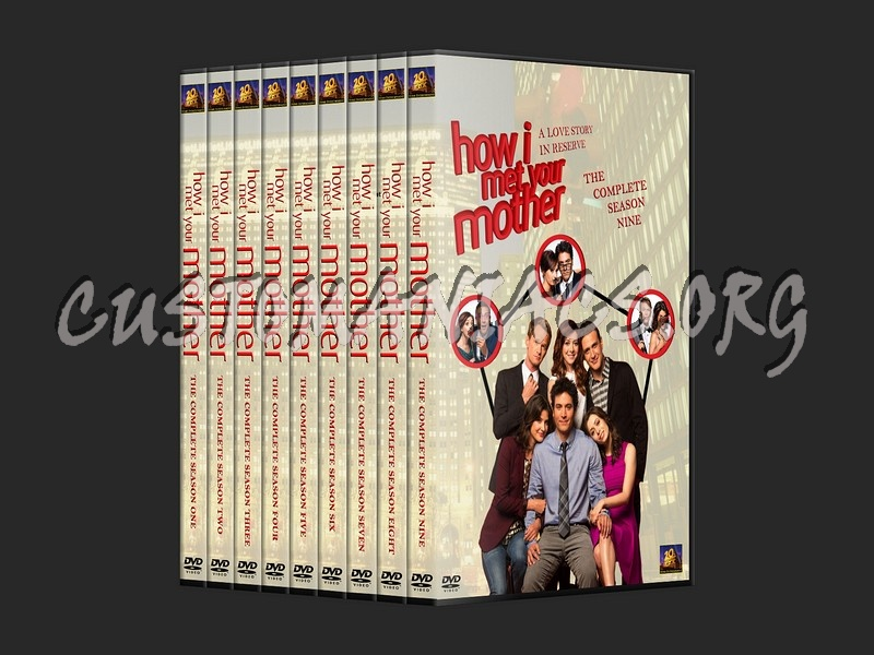 How I Met Your Mother Collection Dvd Cover Dvd Covers Labels By Customaniacs Id 121125 Free Download Highres Dvd Cover