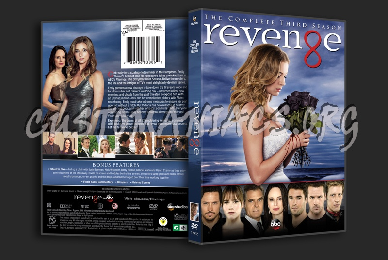 Revenge Season 3 dvd cover