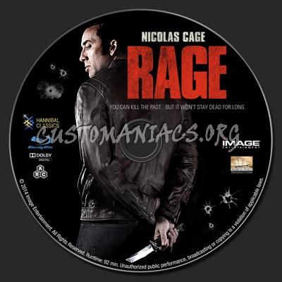 Rage blu-ray label