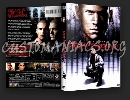 Prison Break Season 1 dvd cover