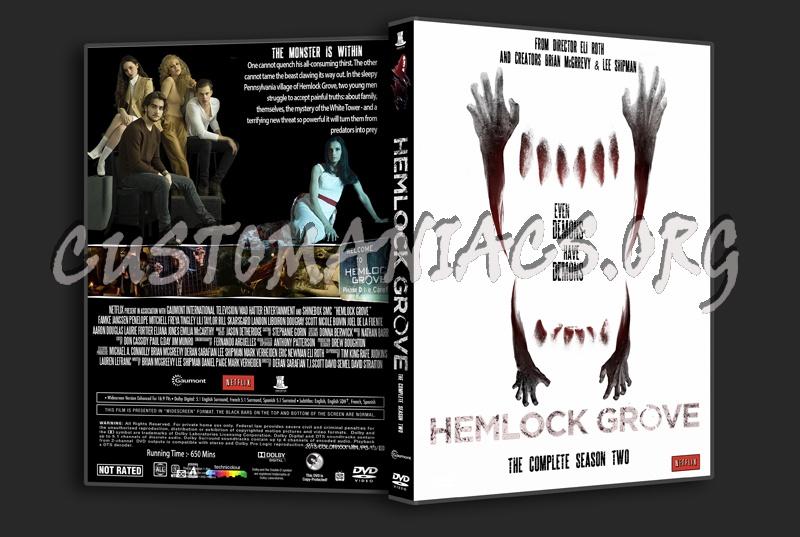 Hemlock Grove Season 2 dvd cover