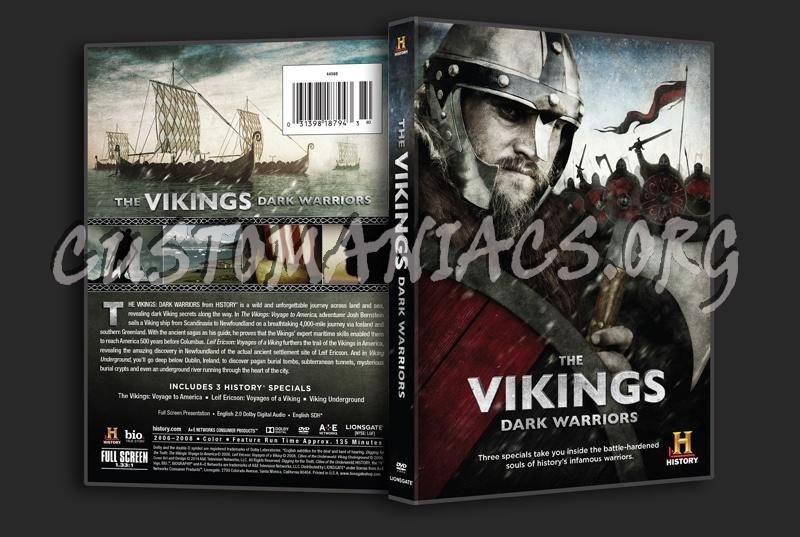 The Vikings Dark Warriors dvd cover