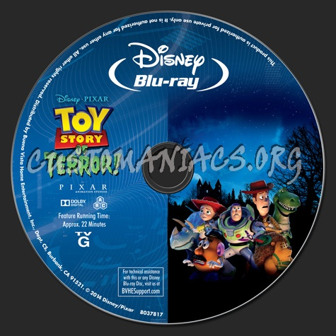 Toy Story of Terror! blu-ray label - DVD Covers & Labels ...