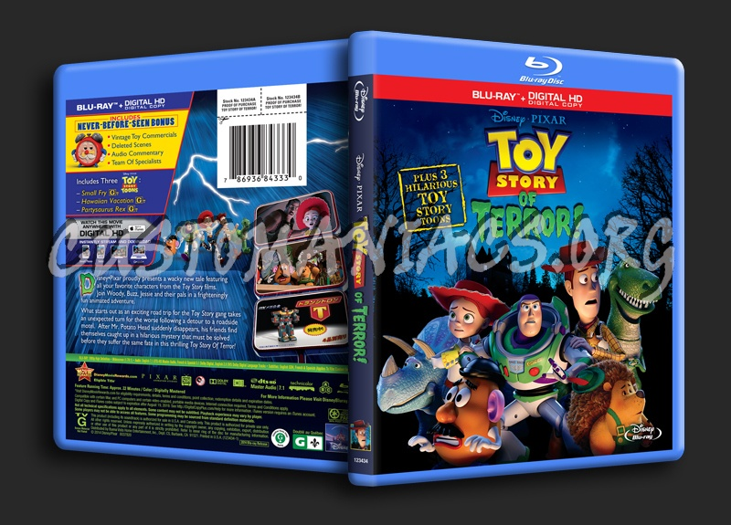 Toy Story of Terror! blu-ray cover