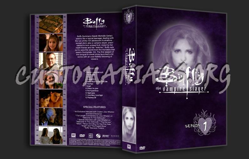 Buffy The Vampire Slayer dvd cover